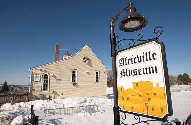 The Africville Museum is seen on the site of the former community of Africville in Halifax, M.S., Tues....