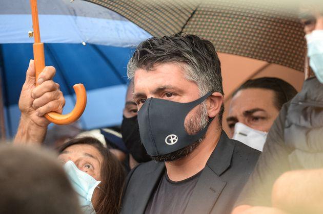 CORIGLIANO-ROSSANO, CALABRIA, ITALY - 2020/06/05: Ivan Gennaro Gattuso known as Rino, world soccer champion...