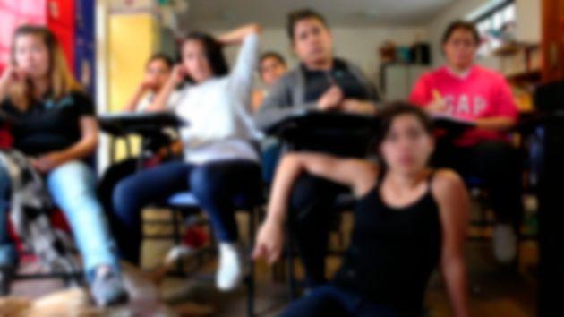 Maritza, Izzy, Nayeli, Katherine, María Ángela, Halcel, Ezra y Damaris durante el proceso...