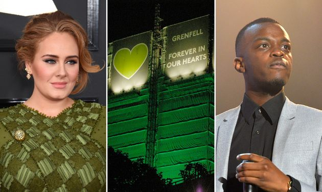 Adele And George The Poet Call For Justice On Third Anniversary Of Grenfell Tower Tragedy