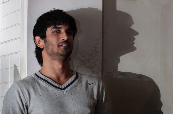 MUMBAI, INDIA - JANUARY 28: Indian actor Sushant Singh Rajput poses during a profile shoot, on January 28, 2013 in Mumbai, India.  (Photo by Vidya Subramanian /Hindustan Times)
