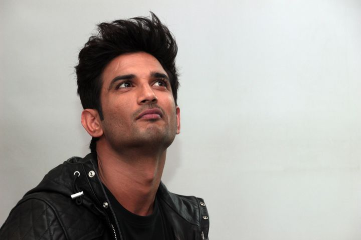 NEW DELHI, INDIA - DECEMBER 6: Bollywood actor Sushant Singh Rajput during the promotion of his upcoming movie Kedarnath' at HT Media office, on December 6, 2018 in New Delhi, India. (Photo by Shivam Saxena/Hindustan Times via Getty Images)