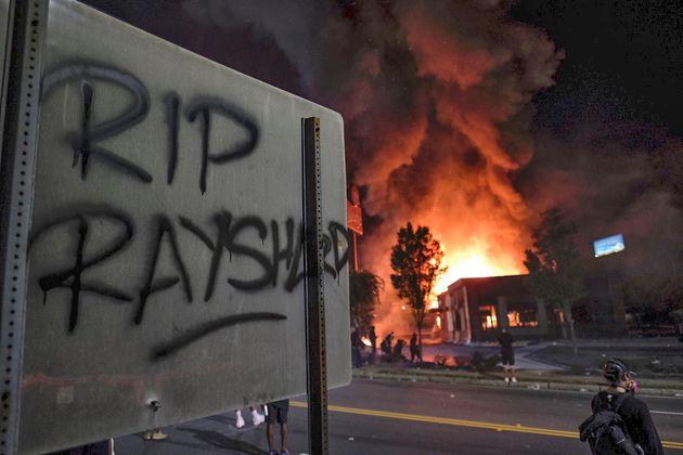 Rayshard Brooks, 27 ans, a été tué dans le stationnement d'un restaurant
