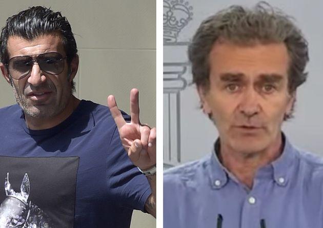Luis Figo y Fernando