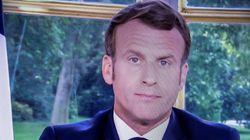 Macron déconfine aujourd'hui, mais remet les