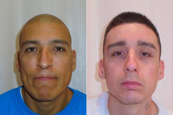 James Busch and Zachary Armitage escaped in July
