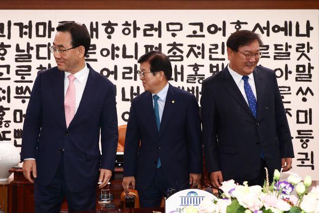 민주당과 통합당의 21대 국회 원 구성 협상이 끝내