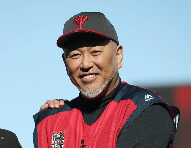 元プロ野球選手の清原和博さん(2019年11月30日、「ワールドトライアウト2019」で撮影)