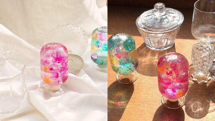 아브아(AVOIR)와 모어쥬드(Morejud) 컬래버레이션 제품, 모어쥬드 스노우 볼(morejude snow ball)