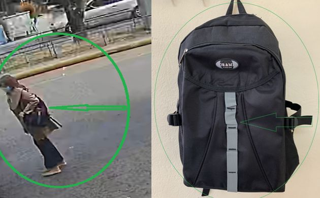 Καρέ-καρέ η επίθεση με το βιτριόλι: Οι φωτογραφίες της