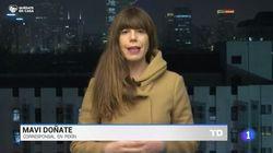 El lamento de una corresponsal de TVE: