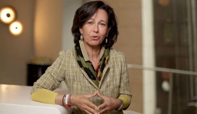 Ana Botín, presidenta de