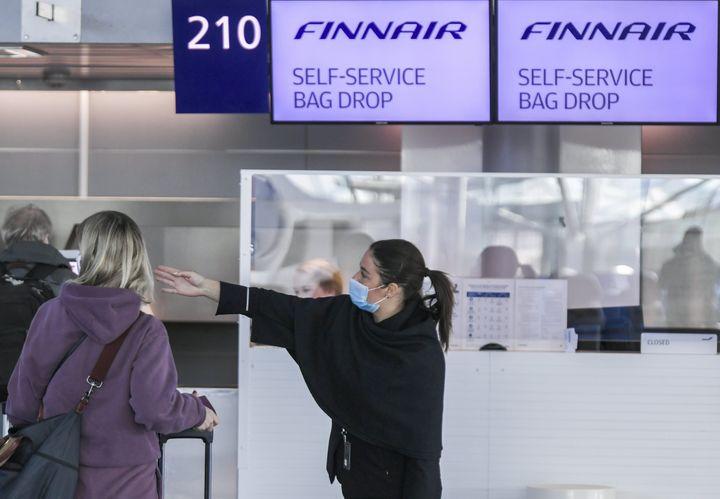 Το αεροδρόμιο του Ελσίνκι. (Photo by Markku Ulander / Lehtikuva / AFP) / Finland OUT (Photo by MARKKU ULANDER/Lehtikuva/AFP via Getty Images)