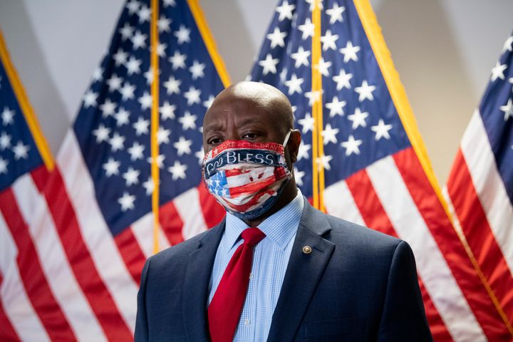 Sen. Tim Scott (R-S.C.) has been tasked with crafting the Senate Republican police reform proposal.