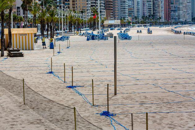 Parcelas de la playa de Levante
