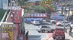 부산 스쿨존 승용차 돌진 사고로 6살 여아가 숨졌다 (사고