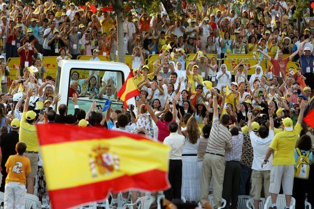 Benedicto XVI, en Valencia el 8 de julio de 2006 (REUTERS/Marcelo del