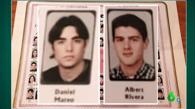 Dani Mateo y Albert Rivera en la orla del