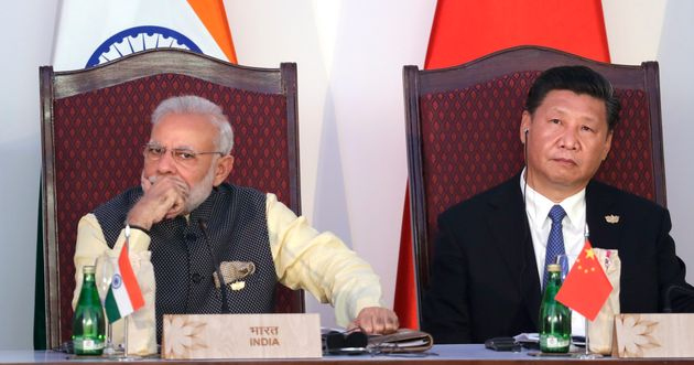 File photo of Prime Minister Narendra Modi and Chinese President Xi