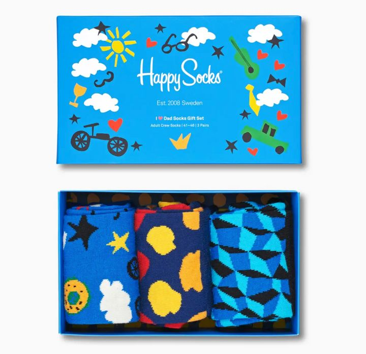 Happy Socks gift set for dads