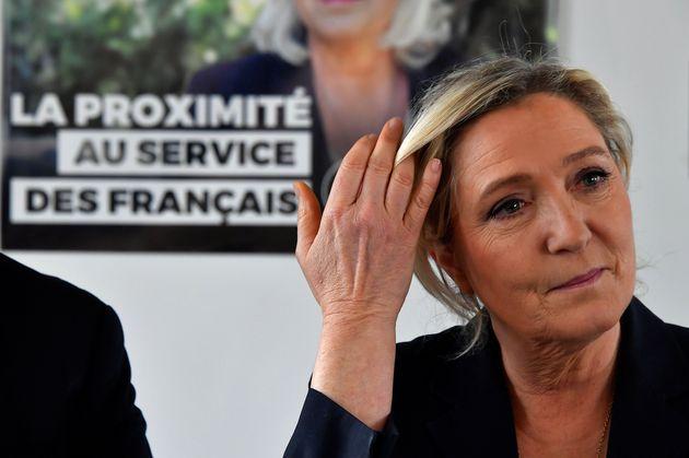 Marine Le Pen à Cavignac le 8 février