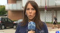 Extraño momento en TVE: una reportera explica una noticia en catalán... y el final se veía