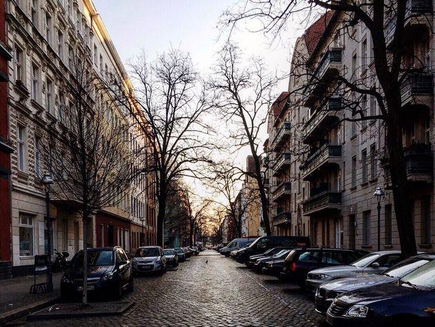 ベルリンで出会った男性が消えていった住宅地は、今でも時々思い出す。