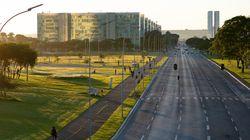 Governo do DF fecha a Esplanada após ameaças à Cúria