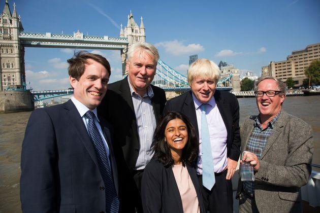 Boris Johnson with Munira Mirza in