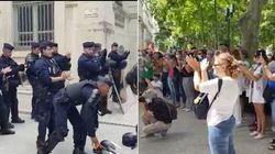 À Nîmes et Lille, les policiers ont applaudi les soignants (qui le leur ont bien