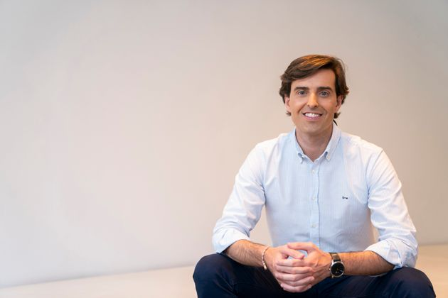 Pablo Montesinos, en la sede del