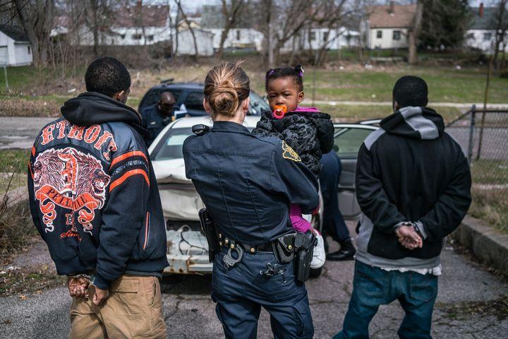 """A scene from the Netflix series """"Flint Town"""""""