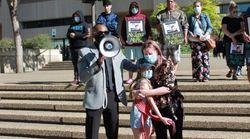 Family Of Slain Metis Hunters Protest Suspect's Bail