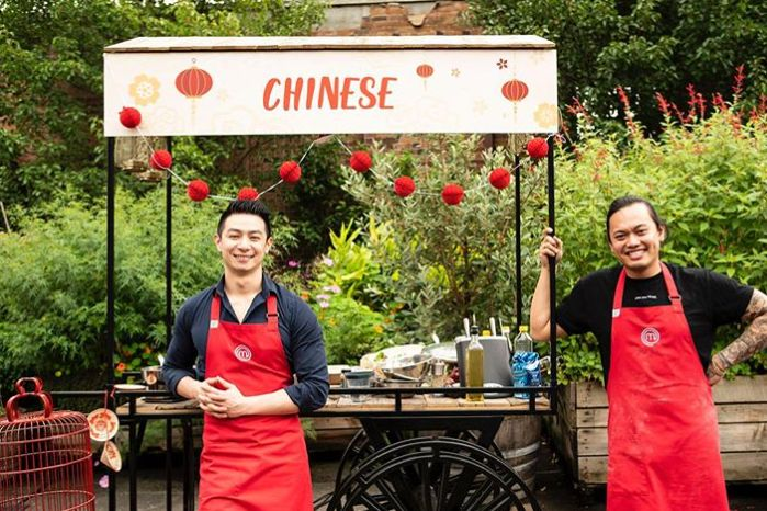 'MasterChef Australia: Back To Win' contestants Reynold Poernomo and Khanh Ong