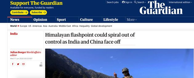 India-China Clash: What International Media Is