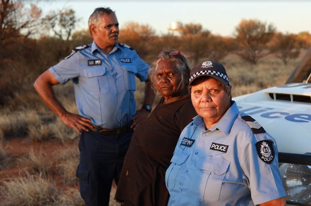 The director of a documentary exploring Australia's first Indigenous-run police station says cops should...