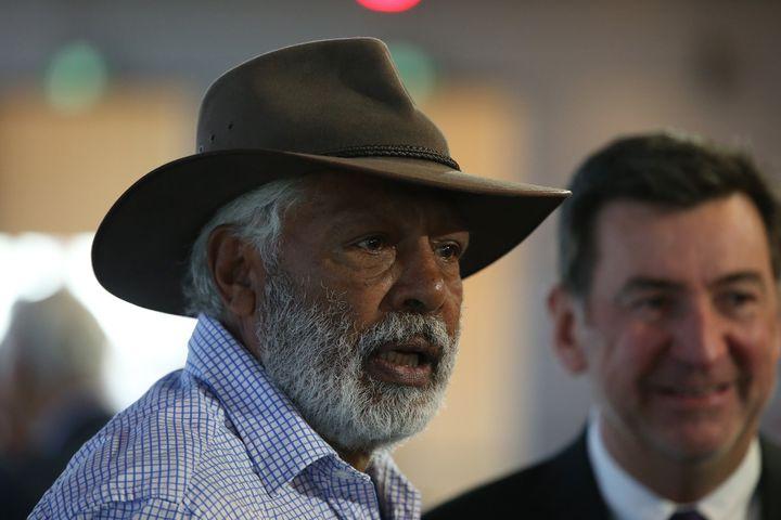 Australian actor Ernie Dingo (Photo by Paul Kane/Getty Images)