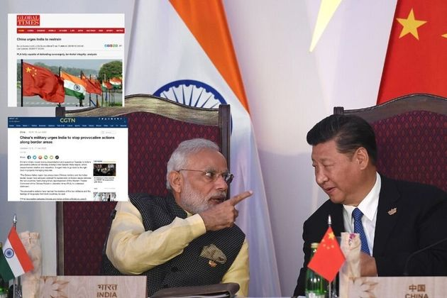 What Chinese Media Said About India-China Face-Off In