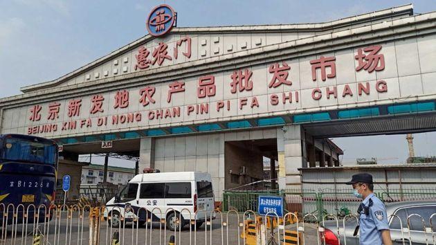 Imagen de archivo de Pekín, donde se ha localizado un nuevo brote de