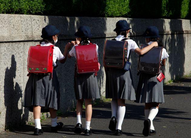 小学校の登校風景(イメージ)