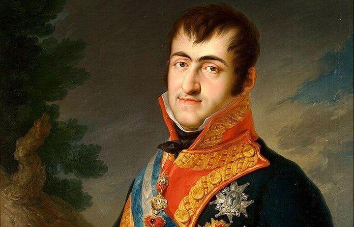 Retrato de Fernando VII por Vicente López Portaña