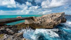 Η γέφυρα στο «στενότερο σημείο του κόσμου» στο νησί με το ελληνικό