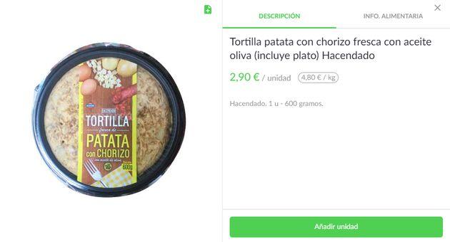 tortilla de