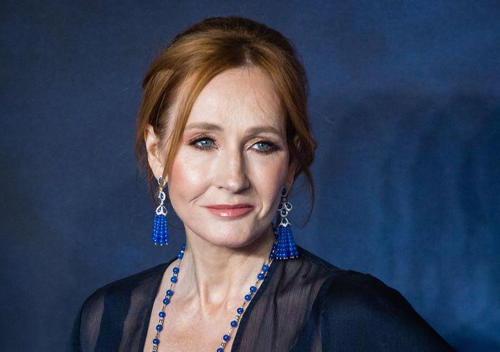J.K Rowling, en la premiere de 'Animales fantásticos: Los crímenes de Grindelwald', en noviembre de 2018.