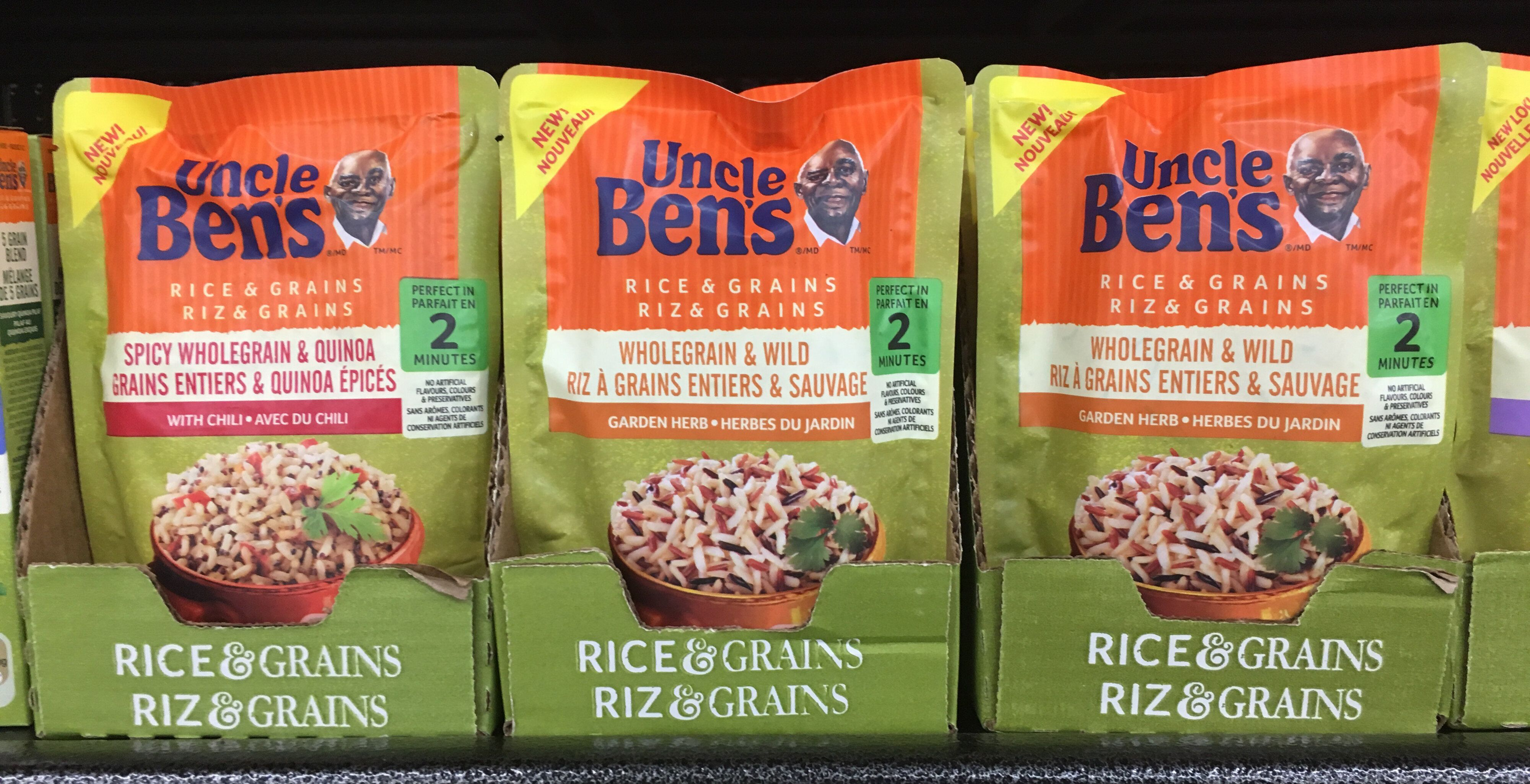 """Uncle Ben's is """"evolving"""" its visual brand identity, parent company Mars, Incorporated said Wednesday."""