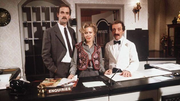 Fawlty Towers was removed, then reinstated, from