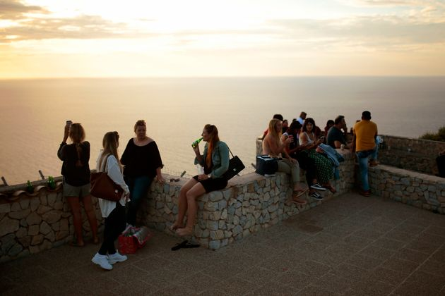 Un grupo de personas en Mallorca, el pasado 16 de