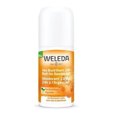Weleda Seabuckthorn 24h Roll-On Deodorant.