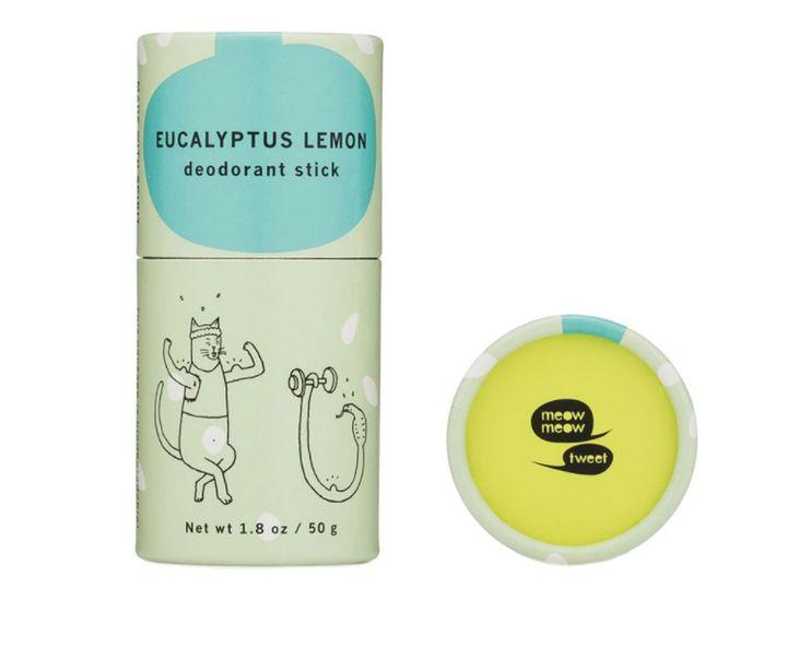 Meow Meow Tweet Eucalyptus Lemon Deodorant Stick