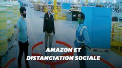 Amazon déploie une intelligence artificielle pour que ses employés respectent la distanciation